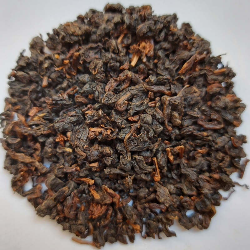 2014 Lüshan ChinShin strong roast hong-oolong